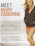 805 Magazine, June 2008 - Mary Osborne, 805 magazine, surfer girl, pro surfer, womens surfing