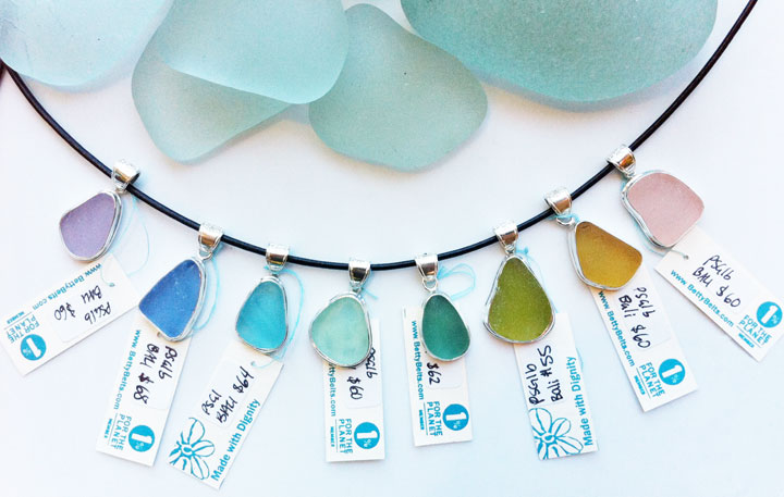 Easter Egg Sea Glass Minis