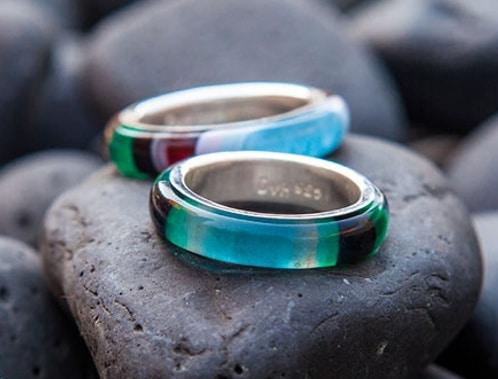 Handmade Sea Glass Amp Surfite Jewelry Wave Rings
