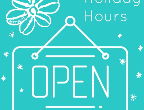 VERY MERRY AT BETTY'S! 2020 Holiday Shop Hours