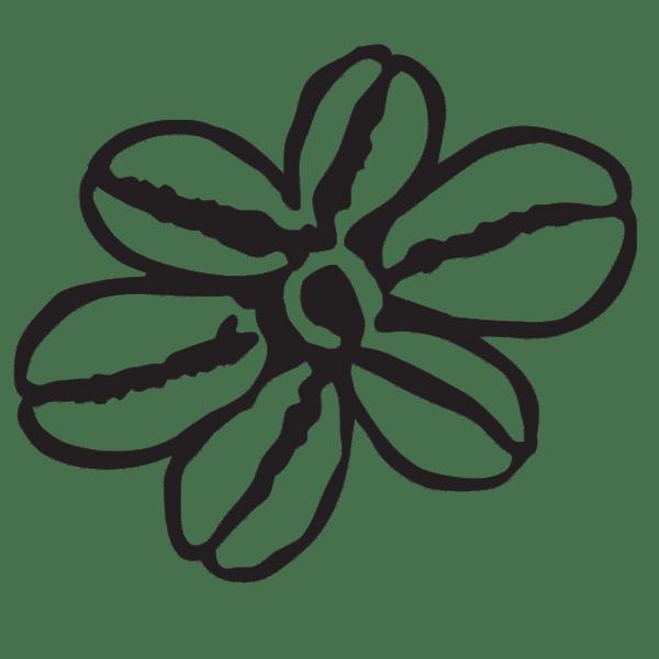 logo black flower