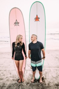 Hailey Partridge and Betty Belts Surfing Life
