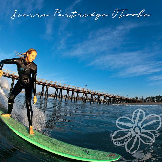 Sierra Partridge Surfer