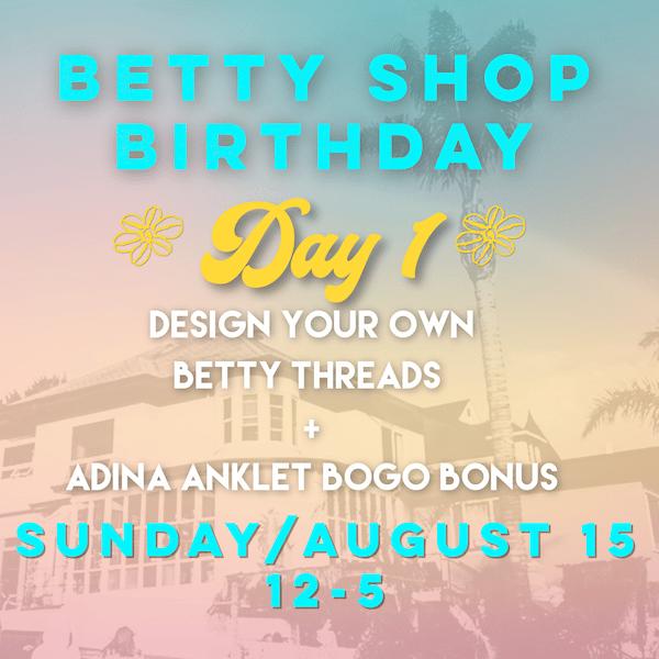 Betty Shop Birthday 2021