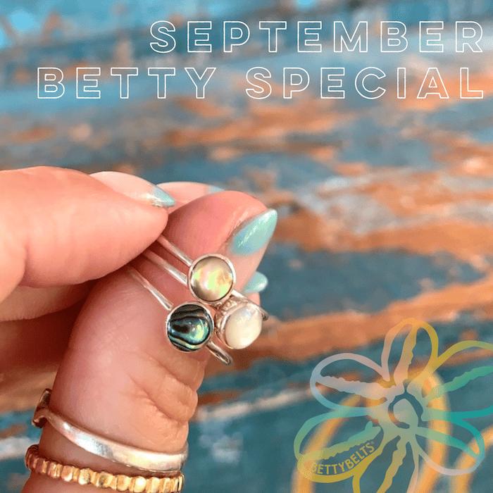 Betty Belts Specials